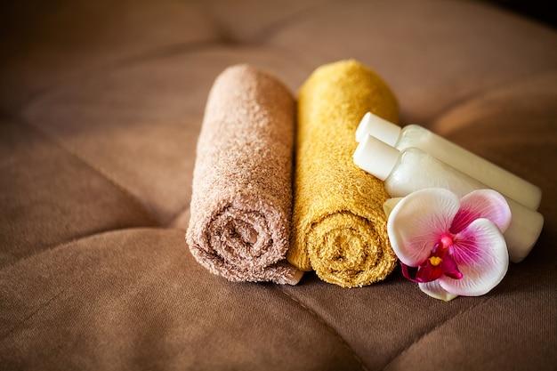 Composición de productos cosméticos de tratamiento de spa.
