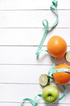 Composición de salud con frutas