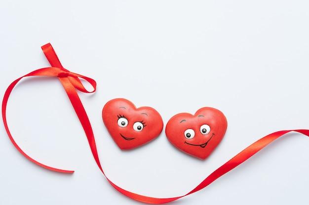 Composición de san valentín