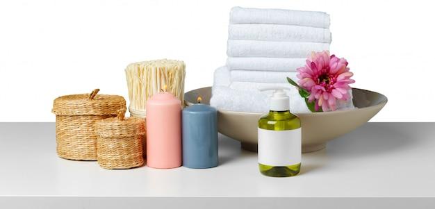 Composición del tratamiento de spa.