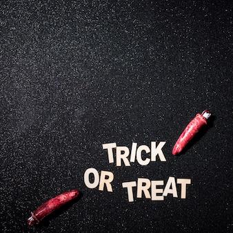 Composición de truco o trato