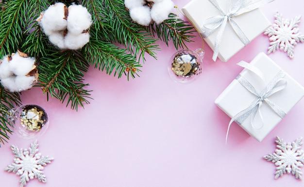 Composición de vacaciones de navidad
