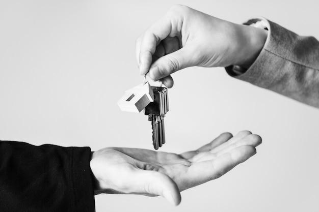 Compra de concepto de bienes raíces