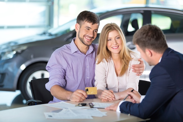 Comprador de automóviles compra de automóviles nuevo contrato de acuerdo de inversión de auto concesionario de automóviles