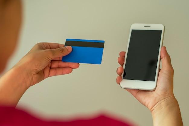 Comprar en línea desde su teléfono móvil