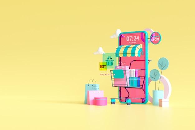 Comprar en linea. tienda en línea