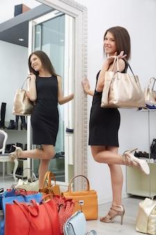 Comprar en la tienda de moda