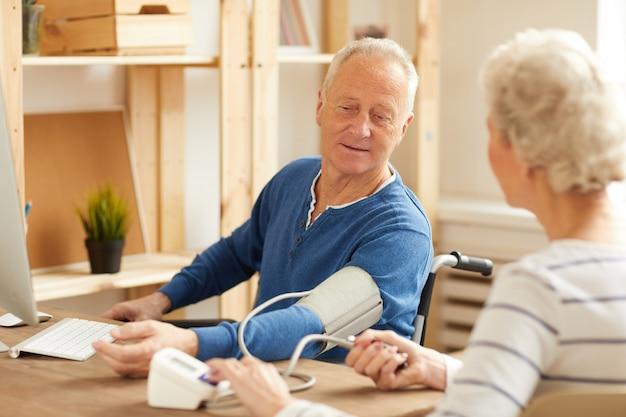 Comprobación de la presión arterial
