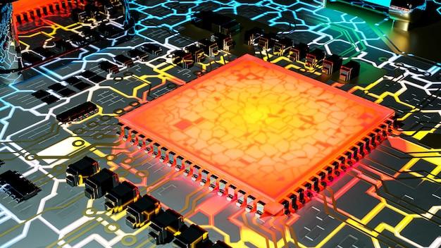Computadora de la tecnología