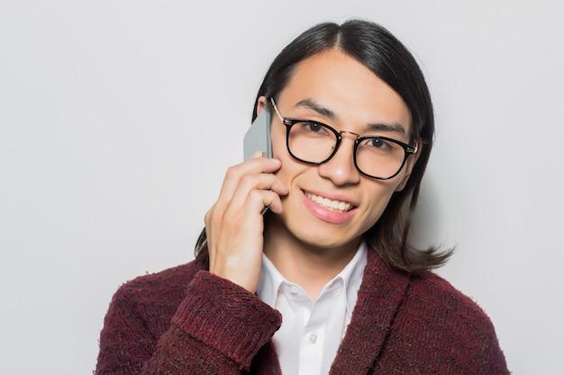 Comunicación por teléfono inteligente