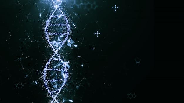 Concepto abstracto de la ciencia de la tecnología