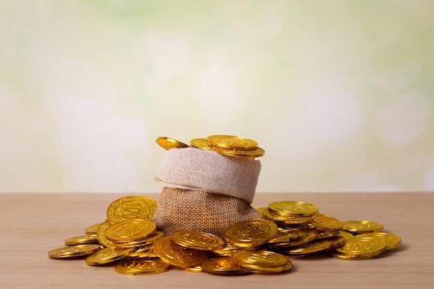 Concepto de ahorro o crecimiento