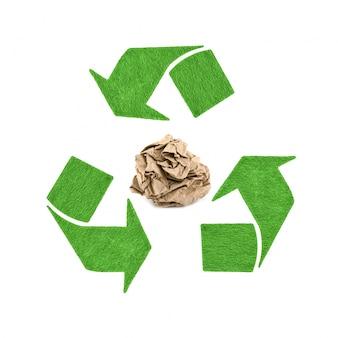 Concepto del ambiente natural protegido de negocio