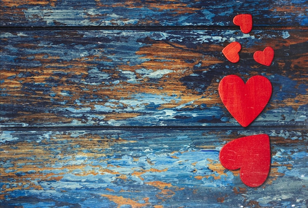 Concepto de amor para el día de san valentín.