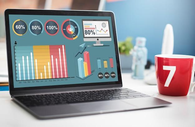 Concepto de análisis de estrategia de plan de análisis