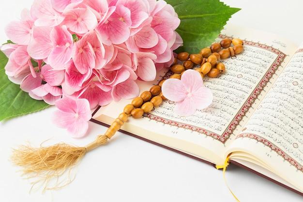 Concepto de año nuevo islámico de primer plano