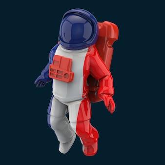 Concepto de astronauta - ilustración 3d
