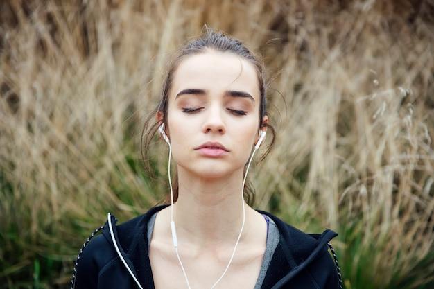 Concepto de calma y meditación.
