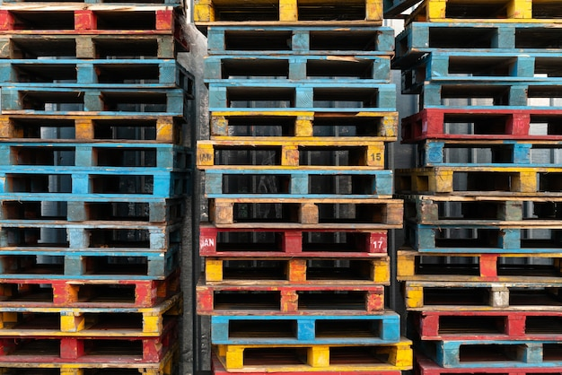 Concepto de carga y envío
