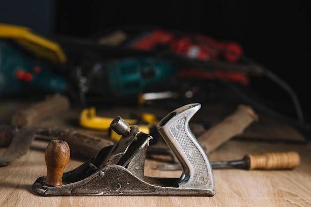 Concepto de carpintería