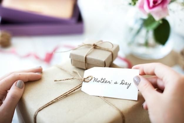 Concepto de celebración feliz del día de las madres
