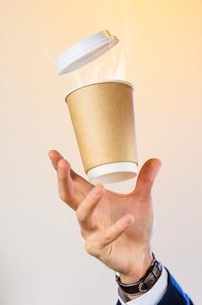 Concepto de coffee break