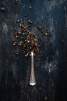 Concepto de comida orgánica