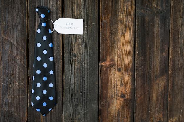 Concepto de corbata para el día del padre