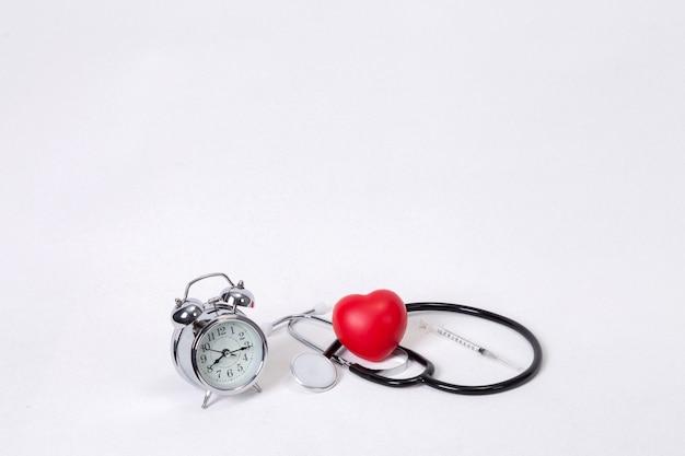 Concepto para el cronometraje, médico y sanitario.