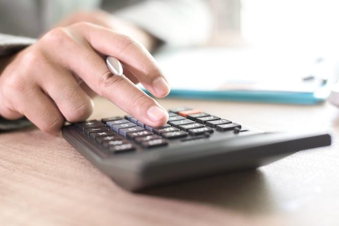 Concepto de banca de contabilidad financiera empresarial