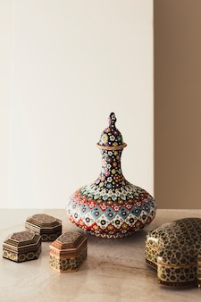 Concepto decorativo de ramadán