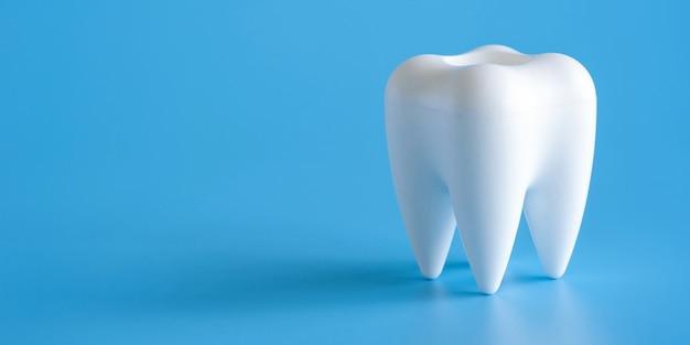 Concepto dental herramientas de equipos saludables cuidado dental banner profesional