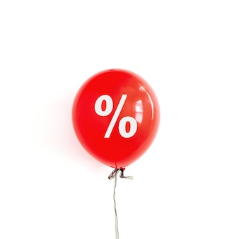 Concepto de descuento de ventas de viernes negro