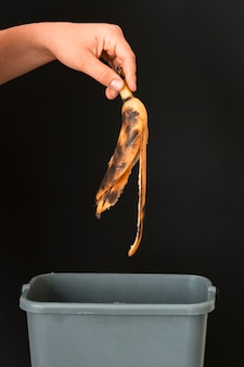 Concepto de desperdicio de alimentos
