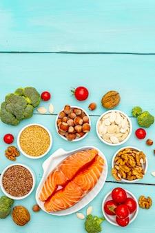 Concepto de dieta cetogénica