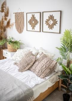 Concepto de diseño de interiores para el hogar