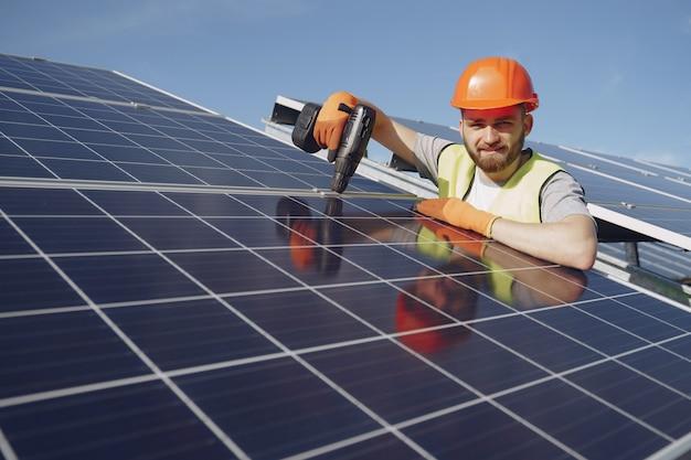 Concepto ecológico de energía alternativa.