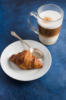 Concepto elegante de café