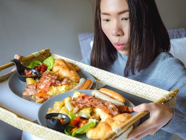 Concepto de estilo de vida alimentario y alimentación saludable