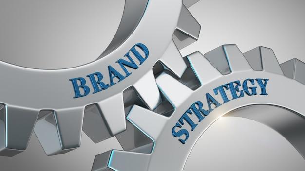 Concepto de estrategia de marca