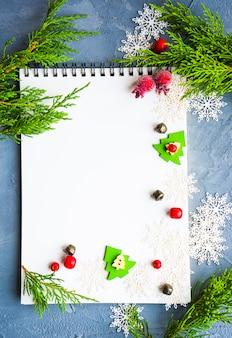 Concepto festivo de navidad