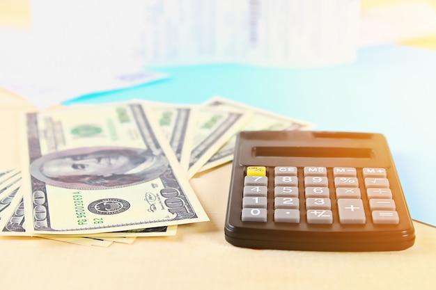 Concepto de finanzas.