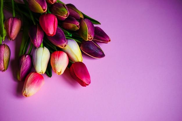 Concepto floral de primavera