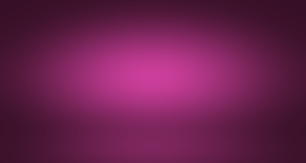 Concepto de fondo de estudio - fondo de sala de estudio púrpura degradado ligero vacío abstracto para producto.