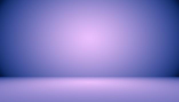 Concepto de fondo de estudio fondo de sala de estudio púrpura degradado ligero vacío abstracto para producto