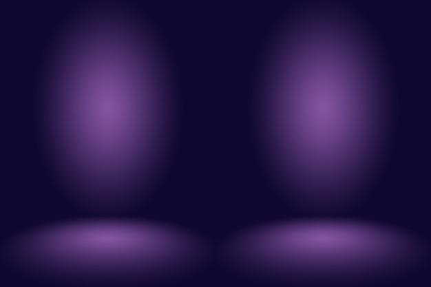 Concepto de fondo de estudio fondo de sala de estudio púrpura degradado oscuro para producto