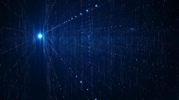 Concepto de fondo de grandes datos de tecnología abstracta.
