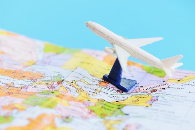 Concepto de fondo de viajes