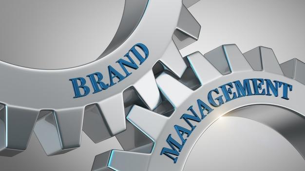 Concepto de gestión de marca