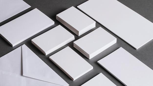 Concepto grande de papelería